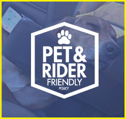 Pet and Rider Friendly
